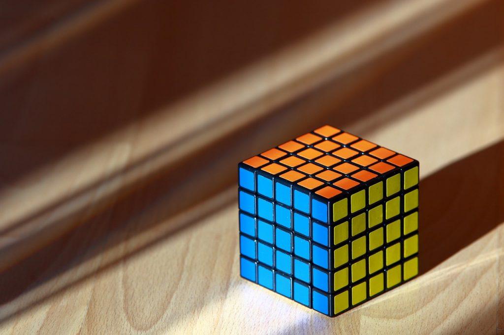 5x5 rubiks kub